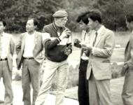 Międzynarodowe sympozjum naukowe na temat trawników, prowadzenie inż. Antoni Hempel